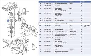vw golf rear suspension diagram  vw  free engine image for