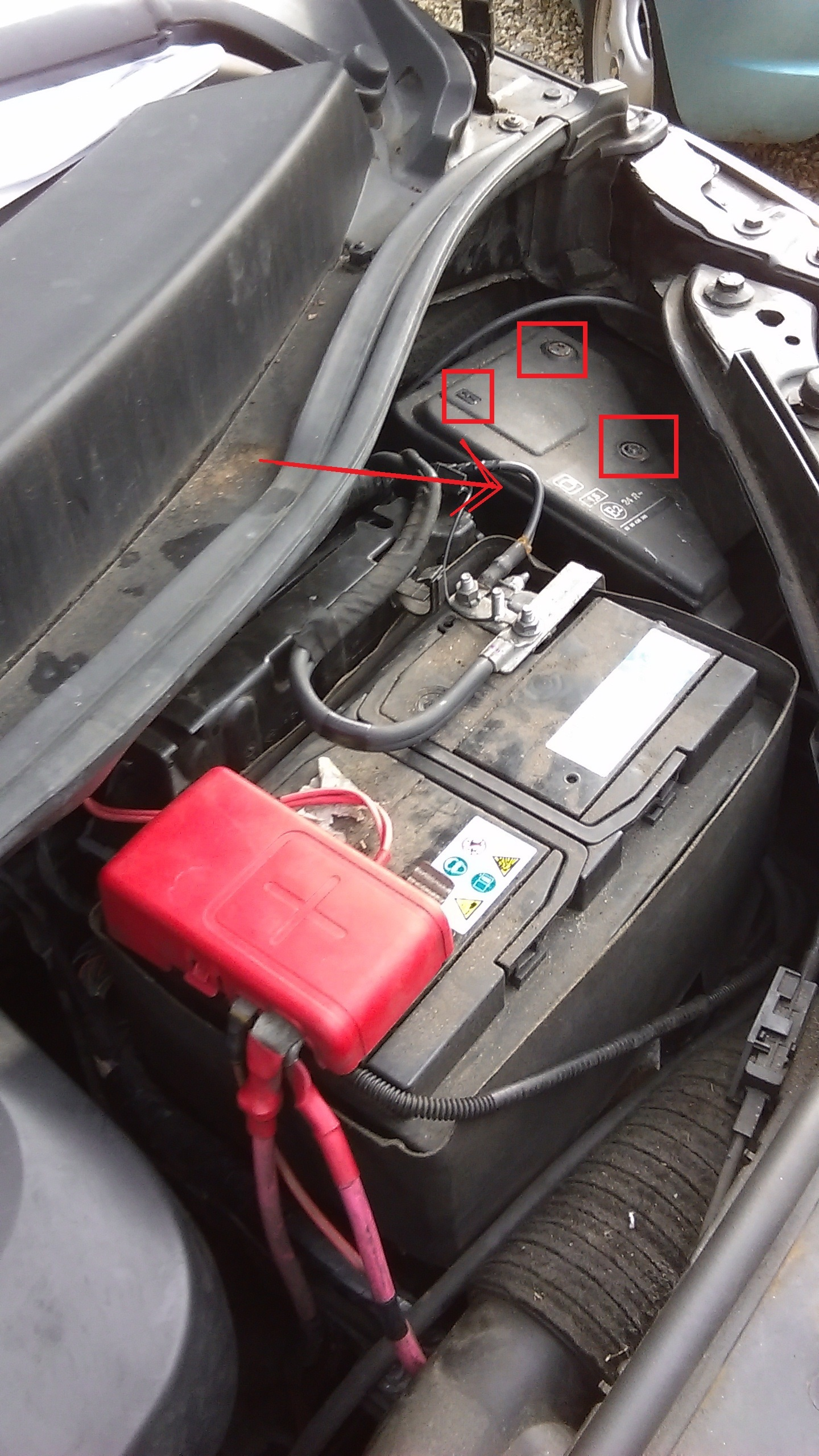 Car Engine Fuse Box